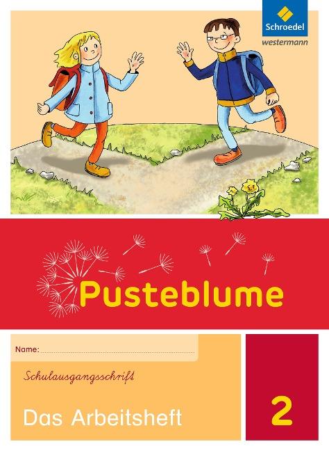 Pusteblume. Das Sprachbuch 2. Arbeitsheft. Schulausgangsschrift SAS. Berlin, Brandenburg, Mecklenburg-Vorpommern, Sachsen-Anhalt und Thüringen -
