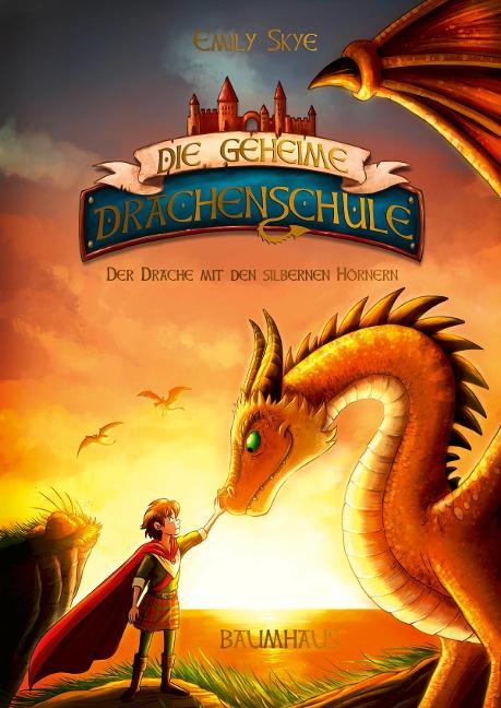Die geheime Drachenschule 2 - Der Drache mit den silbernen Hörnern - Emily Skye
