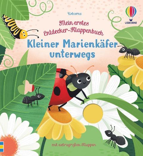 Mein erstes Entdecker-Klappenbuch: Kleiner Marienkäfer unterwegs - Anna Milbourne