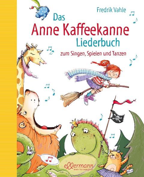 Das Anne Kaffeekanne Liederbuch - Fredrik Vahle