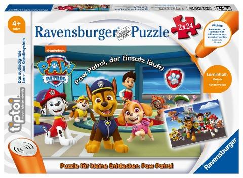 tiptoi® Puzzle für kleine Entdecker: Paw Patrol -