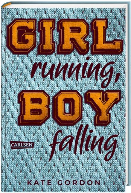 Girl running, Boy falling - Kate Gordon