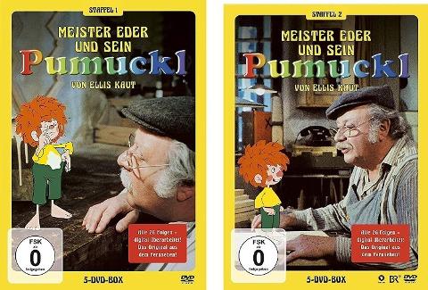 Pumuckl Staffel 1+2 DVD Set -