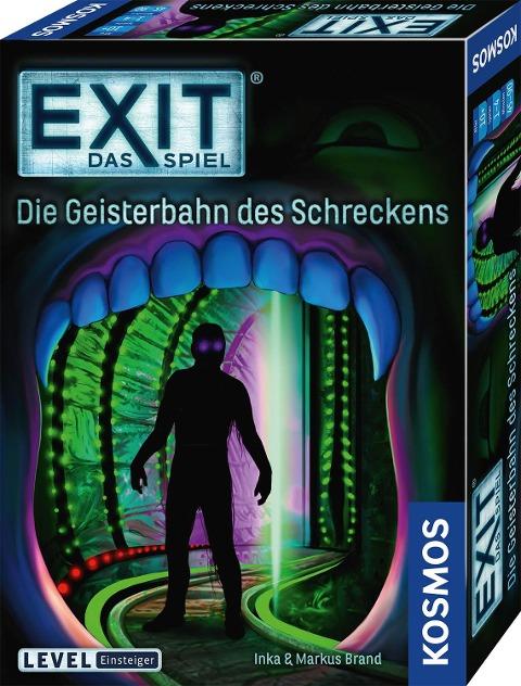 EXIT - Die Geisterbahn des Schreckens - Inka Brand, Markus Brand