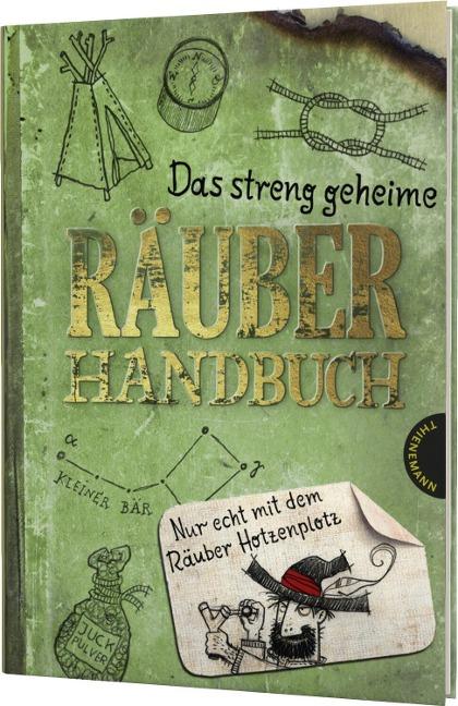Das streng geheime Räuberhandbuch - Martin Verg