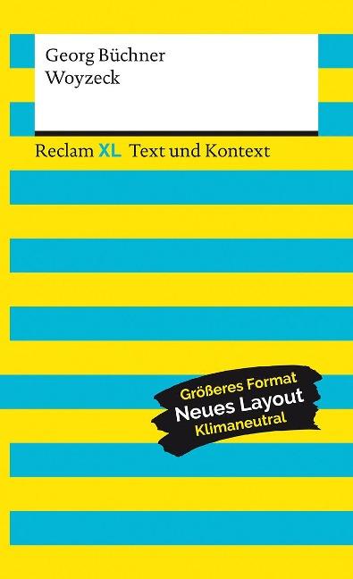 Woyzeck. Textausgabe mit Kommentar - Georg Büchner
