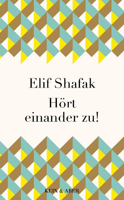 Hört einander zu! - Elif Shafak