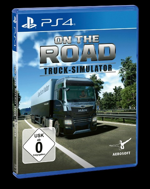 Truck Simulator - On the Road Truck (PlayStation PS4) -