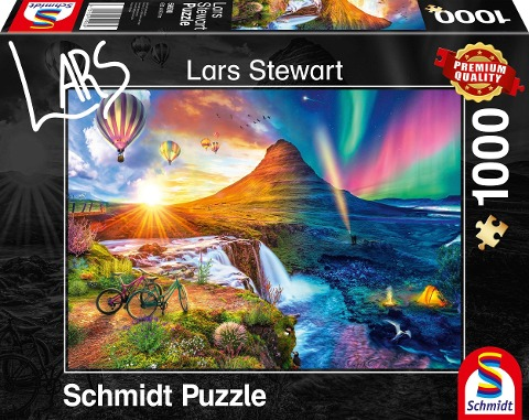 Island, Night and Day Puzzle 1.000 Teile -
