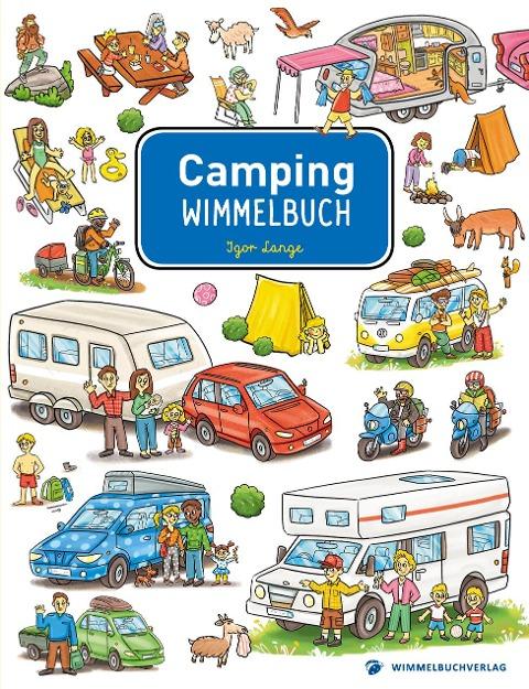 Camping Wimmelbuch -