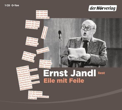 Eile mit Feile - Ernst Jandl