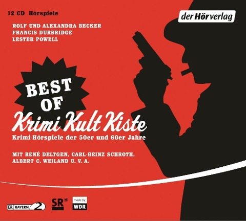 Best of Krimi Kult Kiste - Rolf A. Becker, Alexandra Becker, Lester Powell, Francis Durbridge, Walter Popper