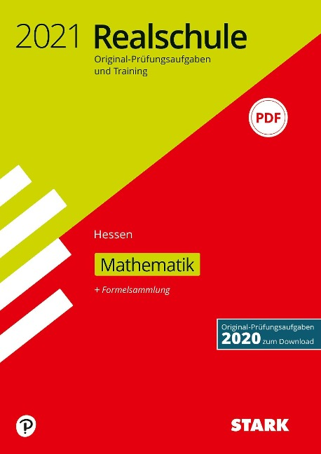 STARK Original-Prüfungen und Training Realschule 2021 - Mathematik - Hessen -