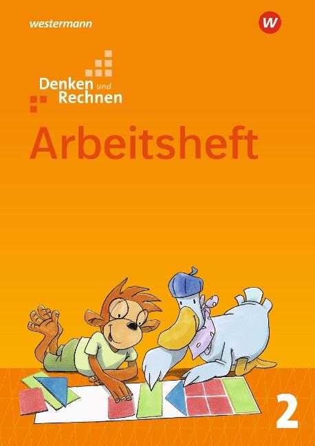 Denken und Rechnen 2. Arbeitsheft. Allgemeine Ausgabe -