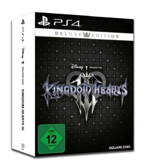 Kingdom Hearts III Deluxe Edition (PlayStation PS4) (USK) -