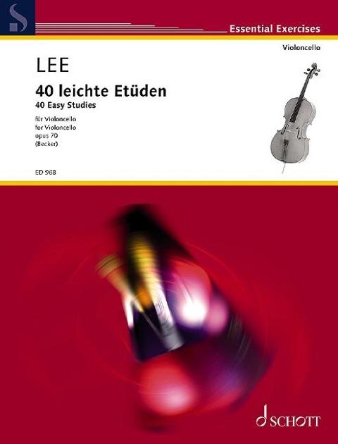 40 leichte Etüden - Sebastian Lee