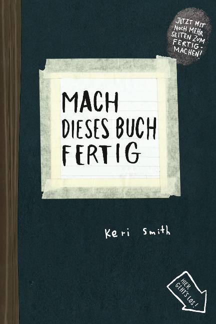 Mach dieses Buch fertig - Keri Smith