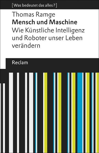 Mensch und Maschine - Thomas Ramge