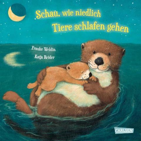 Schau, wie niedlich Tiere schlafen gehen - Katja Reider