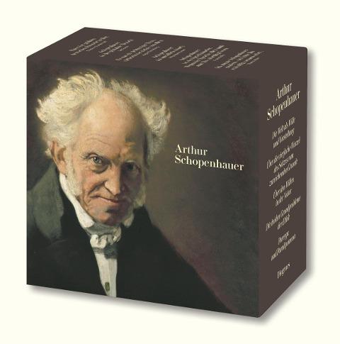 Gesammelte Werke in zehn Bänden in Kassette - Arthur Schopenhauer