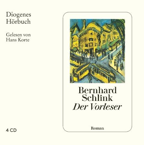 Der Vorleser. 4 CDs - Bernhard Schlink