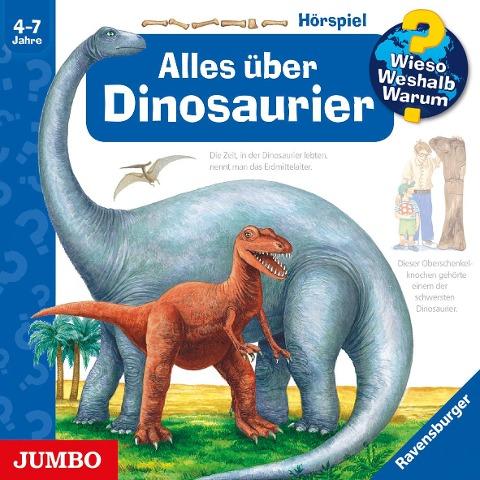 Wieso? Weshalb? Warum? Alles über Dinosaurier. CD -