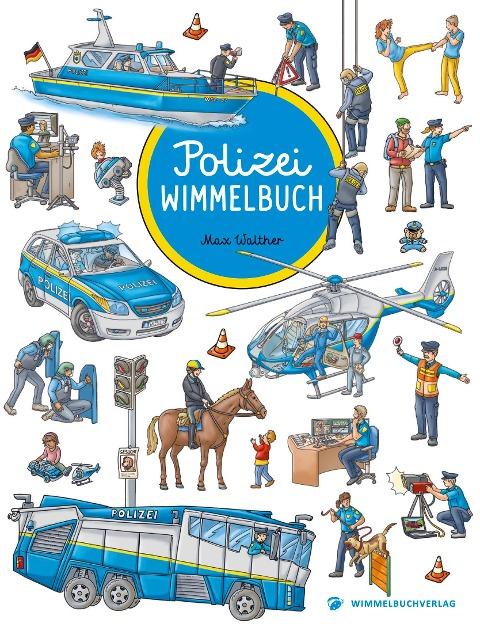 Polizei Wimmelbuch -