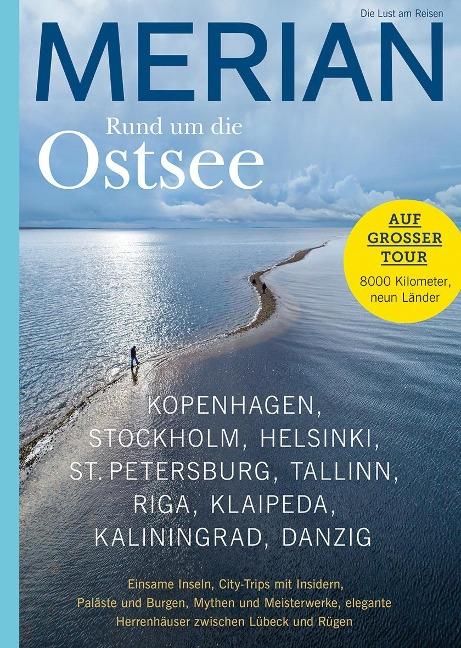 MERIAN Magazin Rund um die Ostsee 01/2021 -
