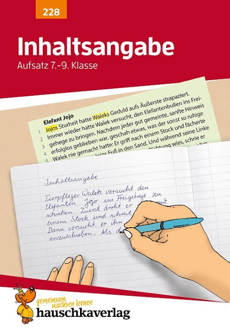 Inhaltsangabe. Aufsatz 7.-9. Klasse - Gerhard Widmann