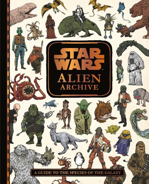 Star Wars: Alien Archive Species Guide -