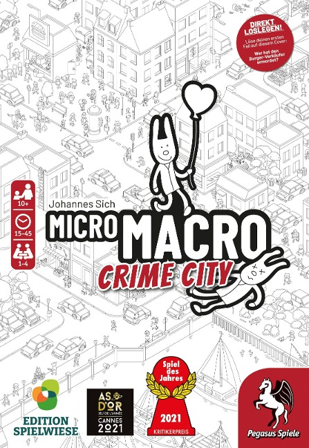 MicroMacro: Crime City (Edition Spielwiese) -