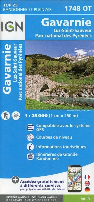 Gavarnie Luz St-Sauveur - PNR des Pyrénées 1 : 25 000 -
