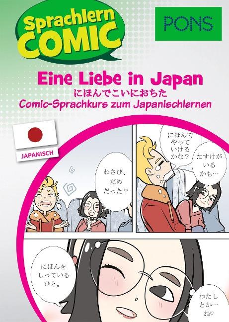 PONS Sprachlern-Comic Japanisch - Eine Liebe in Japan - Martina Ebi, Yumiko Kato