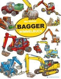 Bagger Wimmelbuch - Max Walther