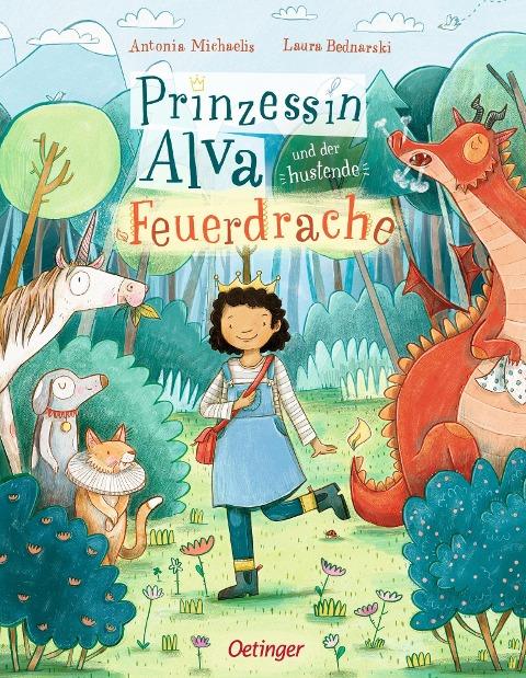 Prinzessin Alva und der hustende Feuerdrache - Antonia Michaelis