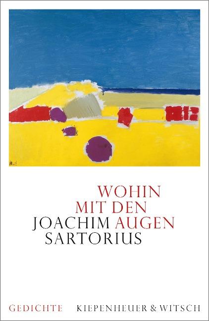 Wohin mit den Augen - Joachim Sartorius
