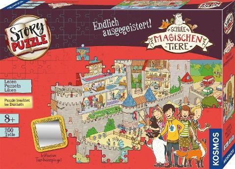 Schule der magischen Tiere - Story Puzzle: Endlich ausgegeistert! -