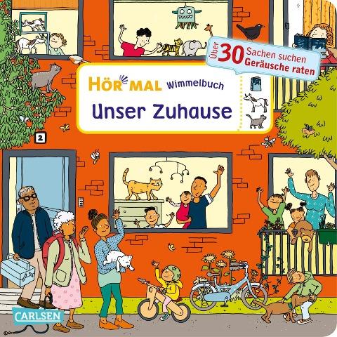 Hör mal (Soundbuch): Wimmelbuch: Unser Zuhause - Julia Hofmann
