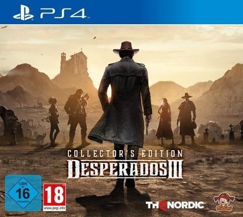 Desperados 3 Collectors Edition (PlayStation PS4) -