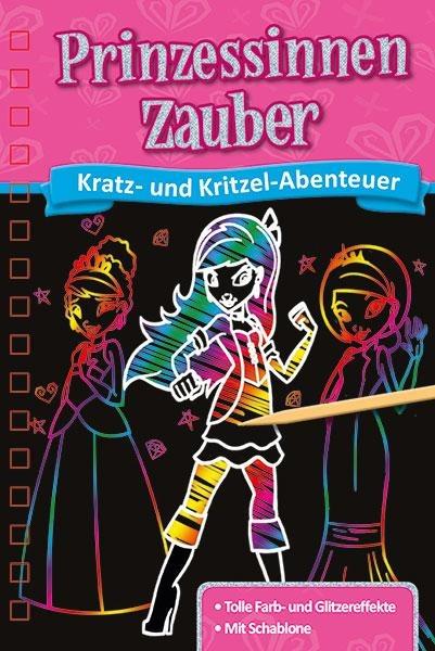 Kratzbuch: Prinzessinnen-Zauber -