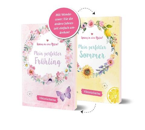 Spring in eine Pfütze! Mein perfekter Frühling/ Mein perfekter Sommer. Wendebuch - ViktoriaSarina