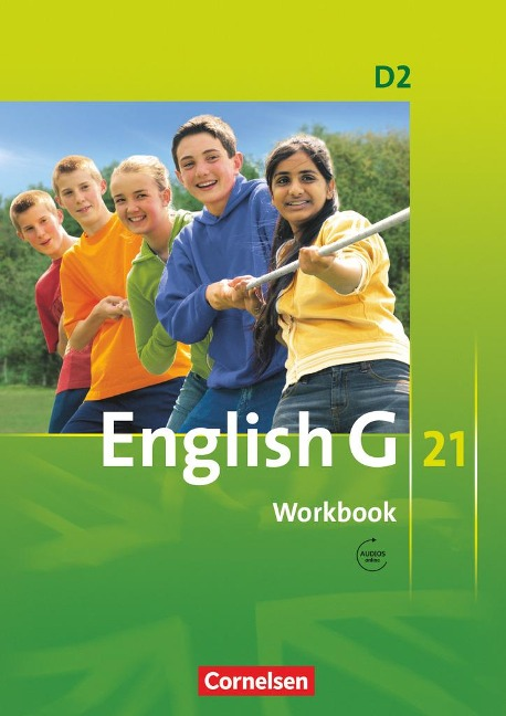 English G 21. Ausgabe D 2. Workbook mit Audios online -