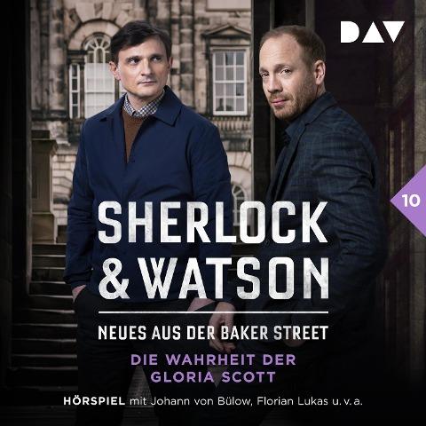 Sherlock & Watson ¿ Neues aus der Baker Street: Die Wahrheit der Gloria Scott (Fall 10) - Viviane Koppelmann