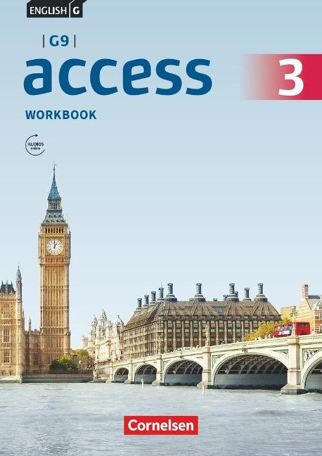 English G Access - G9 - Band 3: 7. Schuljahr - Workbook mit Audios online -