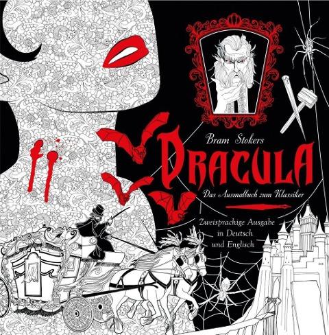 Dracula - Das Ausmalbuch -