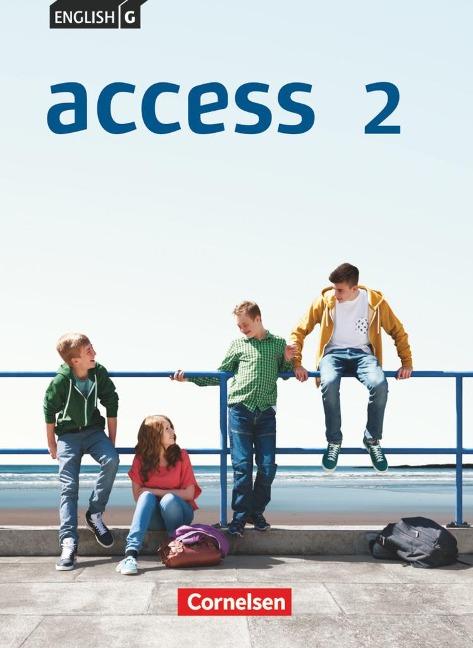 English G Access 02: 6. Schuljahr. Schülerbuch. Allgemeine Ausgabe - Laurence Harger, Cecile J. Niemitz-Rossant