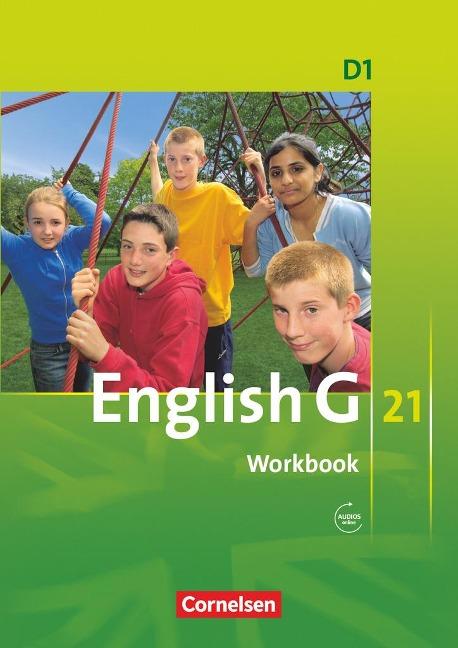 English G 21. Ausgabe D 1. Workbook mit Audios online -