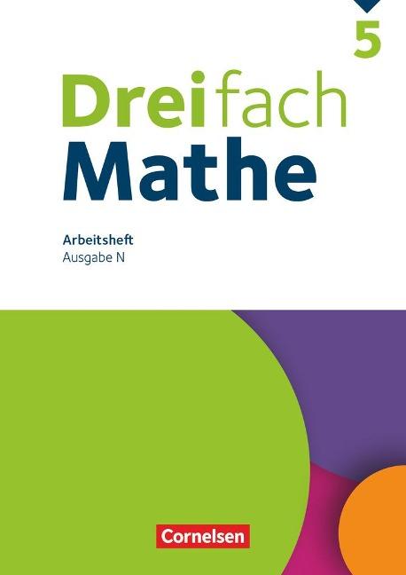 Dreifach Mathe 5. Schuljahr. Niedersachsen - Arbeitsheft mit Lösungen - Christina Tippel, Hanno Wieczorek, Mesut Yurt