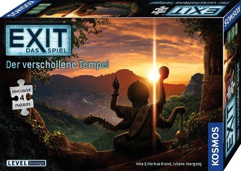 EXIT Das Spiel + Puzzle - Der verschollene Tempel -