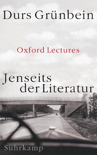 Jenseits der Literatur - Durs Grünbein